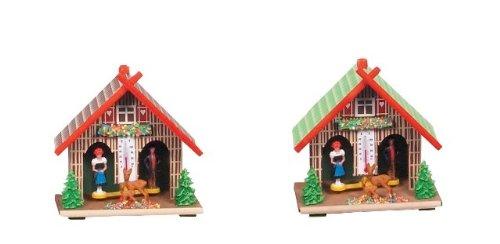Engstler Christmas Decor Weatherhouse – 5.5″H X 5.5″W X 3″D