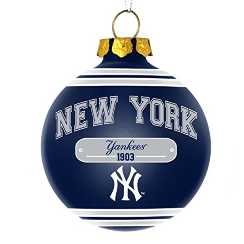 New York Yankees Official MLB 2014 Year Plaque Ball Ornament