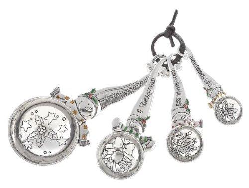 Ganz Measuring Spoons – Snowmen – Ornaments Gifts Christmas EX28044-GANZ