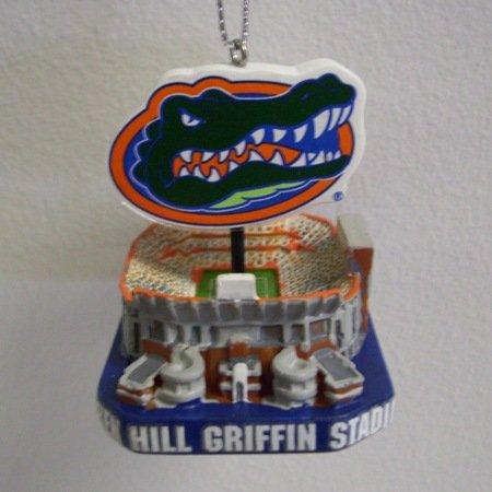Florida Gators The Swamp Stadium Christmas Ornament