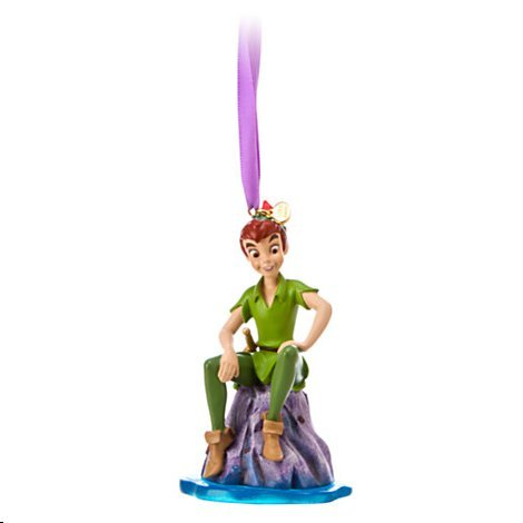 Disneys Peter Pan Sketchbook Ornament 2014 New Release