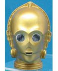 Star Wars-C-3PO glass holiday ornament