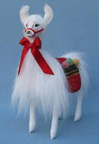 annalee 10 christmas delights standing llama decoration - Llama Christmas Decoration