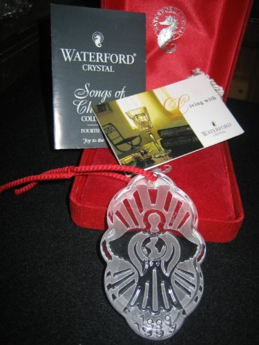 Waterford Songs of Christmas Ornament – Joy to the World 1999 (4th Edition)