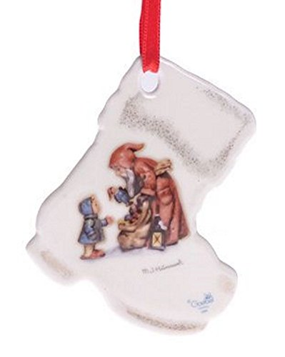 M I Hummel St. Nicolas Day Boot Ornament