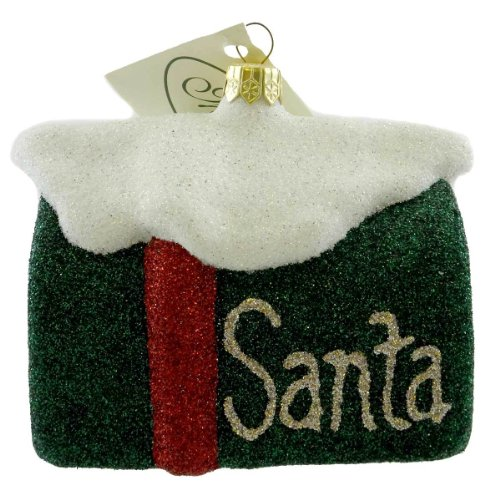 Mattarusky SANTAS MAILBOX M18 Ornament Christmas Letters New