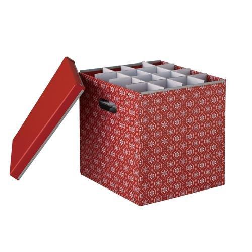 ORGBH Organize It All X-Mas Ornaments Paper Box, 64-Inch