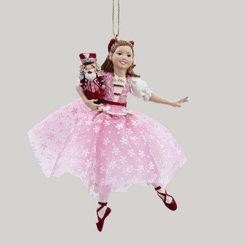 5″ DANCING CLARA GIRL NUTCRACKER SUITE ORNAMENT