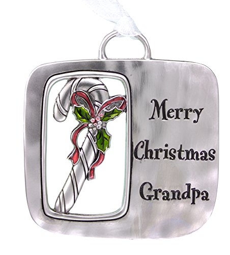 GANZ Zinc Christmas Ornament-Merry Christmas (EX23806)