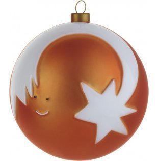 Alessi Christmas Tree Decoration Star Stella Cometa Bauble
