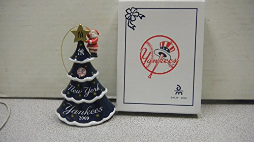 NY Yankee Limited Edition Annual Christmas Ornament 2009