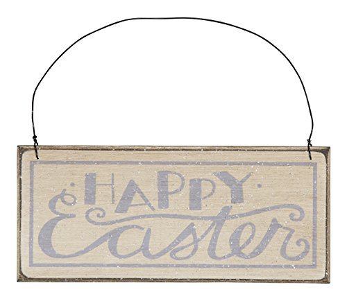 Primitives By Kathy Easter Decor Small Sign – Happy Easter – 3″ x 7″ #23344