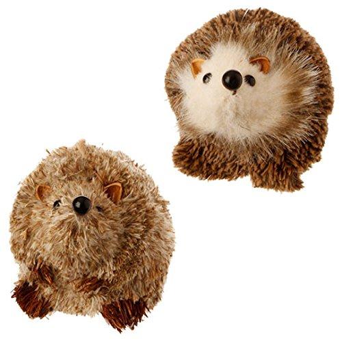 RAZ Imports – 3″ Small Hedgehog Ornaments – Set of 2