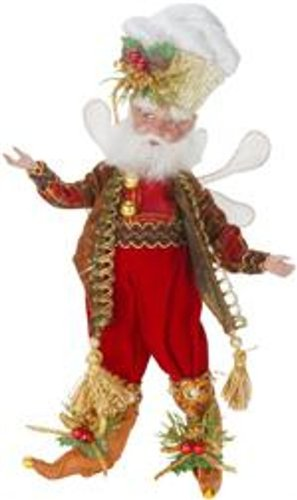 Mark Roberts Fairies, Cinnamon Spice Fairy, Small 10 Inches, Packaged with a Tropical Magnet