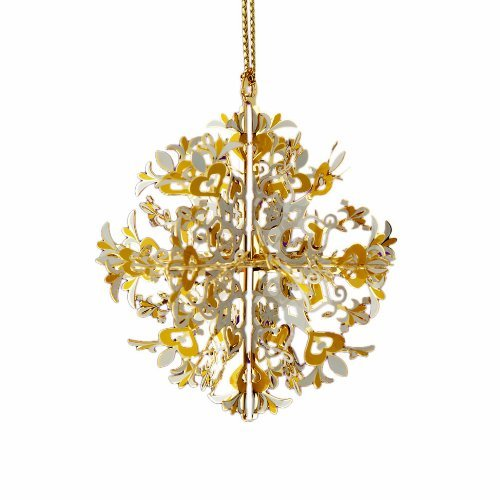 ChemArt Carnival Snowflake Ornament