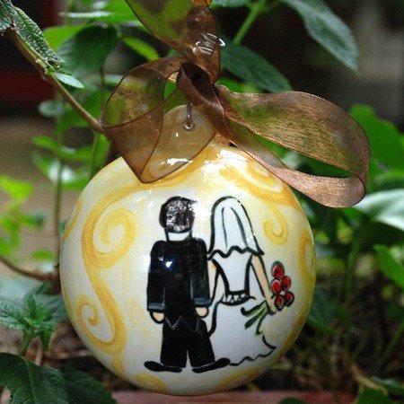 Wedding Ball Ornament