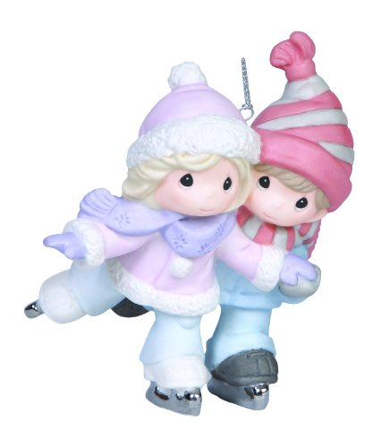 Precious Moments Company Couple Skating Ornament