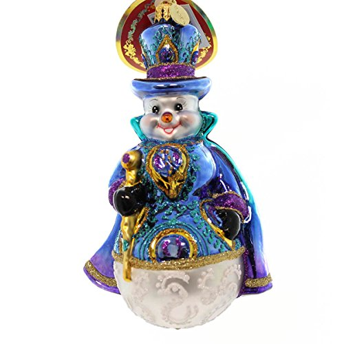 Christopher Radko Snowy Plumage Christmas Ornament