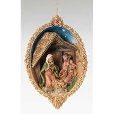 Fontanini Holy Family Ornament 56332HF