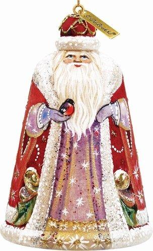 Majestic Santa Bell Ornament