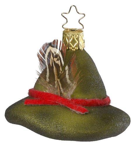Inge-Glas Forestry Alpine Hat Christmas Ornament