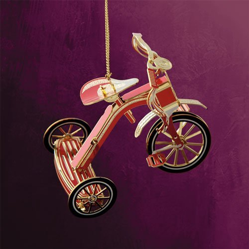 ChemArt 40331 Red Tricycle Ornament