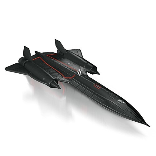 Hallmark 2014 Lockheed SR-71 Blackbird Aircraft Ornament