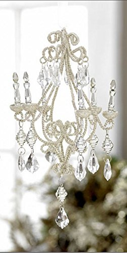 8″ Victorian Chandelier Elegant Christmas Ornament