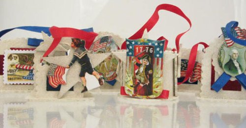 BETHANY LOWE Patriotic Theme Miniature Treat Boxes – Set of 6