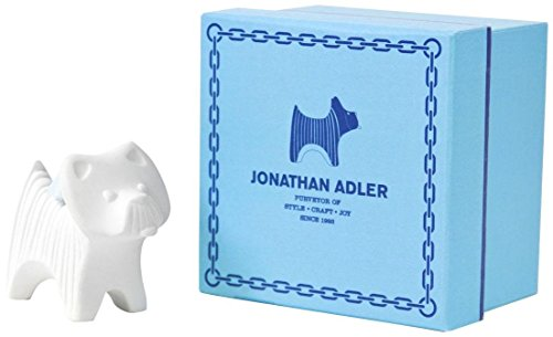 Jonathan Adler Terrier Ornament-White