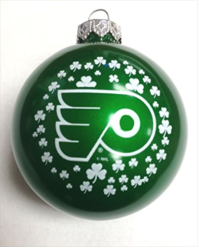 Philadelphia Flyers NHL 2 5/8″ Glass Christmas Ornament