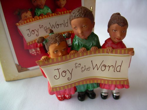 """Joyful Trio"" Christmas Ornament – Hallmark Keepsake 2004 Christmas Ornament Series"