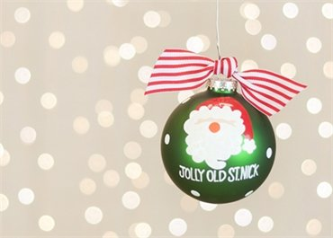 Coton Colors Santa Painted Christmas Ornaments. Make the Season Sparkle with Our Jolly Old St. Nick Ornament. Dressed in Festive Holiday Hues Accented By a Brilliant Glitter Detail, the Classic Santa Feels Fresh and Modern.