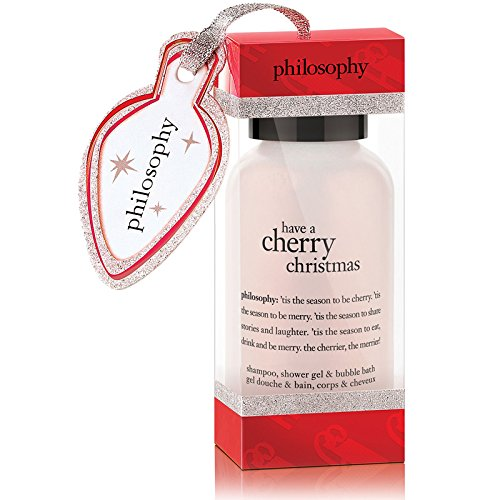 Philosophy shower gel ornament – have a cherry christmas