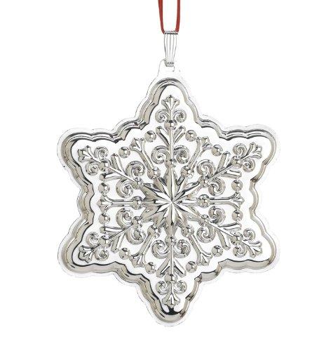 Reed & Barton Holiday Snowflake Christmas Ornament, 2 3/4-Inch