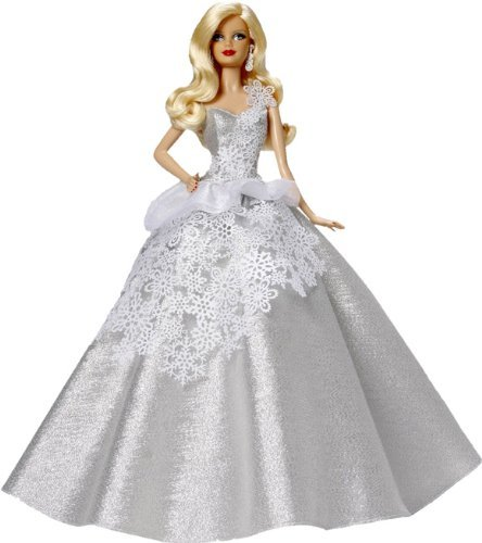 Carlton Heirloom Series Ornament 2013 Holiday Barbie #1 – #CXOR079D