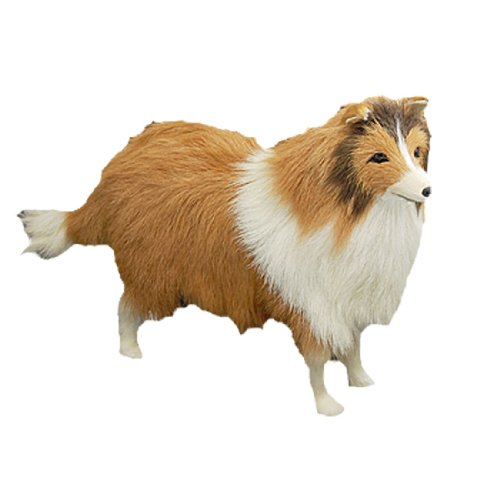 Scotland Sheepdog Animal Desk Decoration Craft Gift