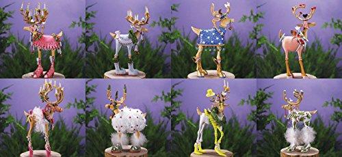 Krinkles 8 Dash Away Reindeer 7″ Figure/Ornaments Patience Brewster