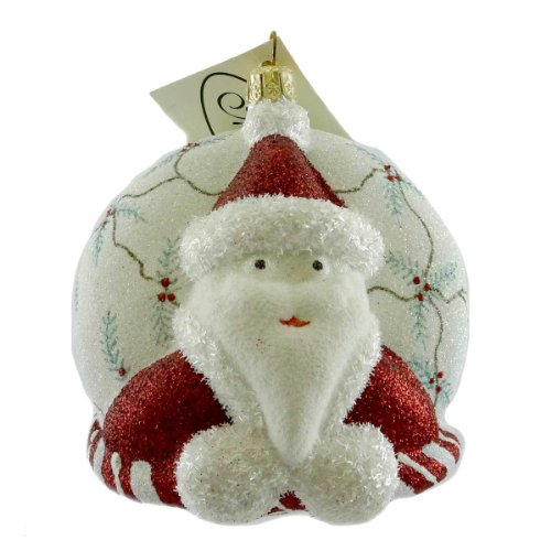 Mattarusky DYNAMIC DUO M163 Ornament Santa Reindeer New