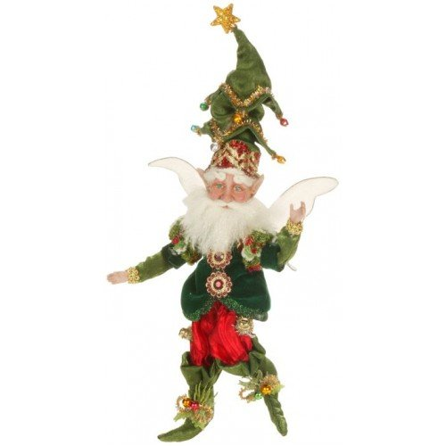 Mark Roberts Fairies – Ornament Fairy – Small 9″ – Comes Packaged with a Credit Card Sized Tropical Magnet Featuring a Starfish, Anchor, Sailboat and Palm Tree
