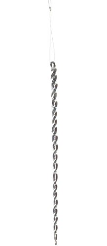 Sage & Co. XAO14264CL Glass Icicle Ornament