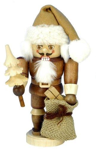 "32-603 – Christian Ulbricht Mini Nutcracker – Santa – 6.75″""H x 3.25″""W x 3.5″""D"