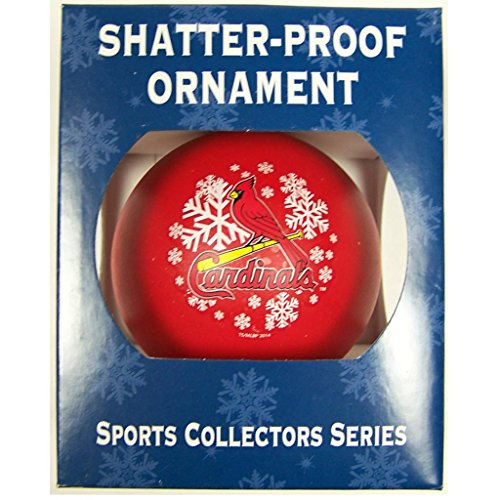 MLB St. Louis Cardinals Shatter-Proof Plastic Ornament