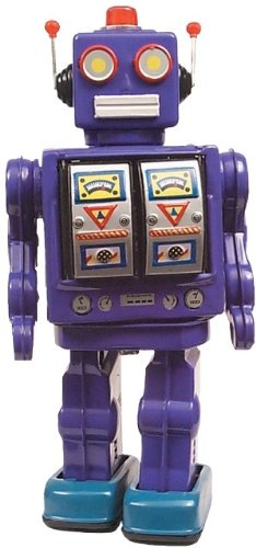 Alexander Taron ME100 Collectible Tin Toy – Battery-operated Robot