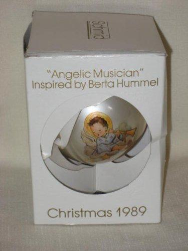 "1989 "" Angelic Musician "" Christmas Ornament by Berta Hummel"