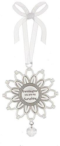 "Ganz Sunshine Ornament ""Granddaughter you are my sunshine"""