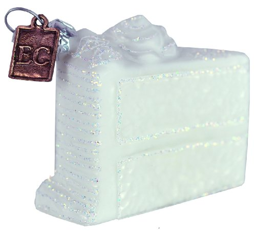 Eric Cortina Miniature White Wedding Cake Ornament
