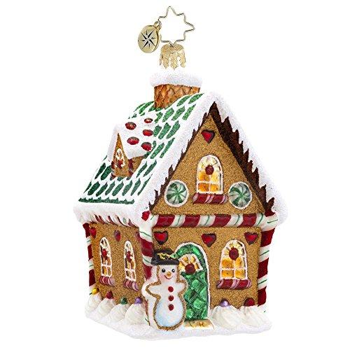 Christopher Radko Sweet Ginger Cottage Glass Christmas Ornament – New for 2014