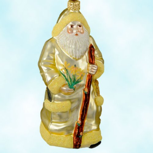 Patricia Breen Santa Paints Fall Store Exclusive 2000 Limited 250 Christmas Tree Ornaments