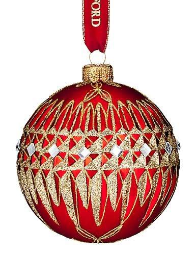 Waterford HH Lismore Diamond Ball Ornament